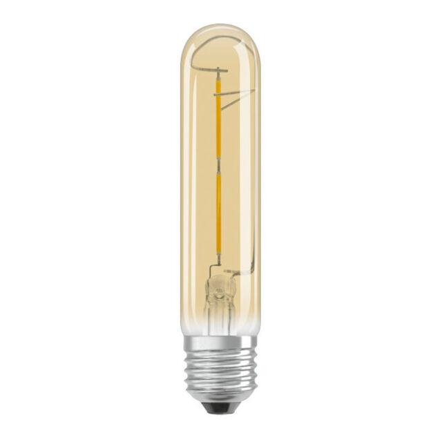 Osram Vintage Edición 1906 ,Oro LED Tubular, 2.8w, E27 Rosca Edison 2400k 824