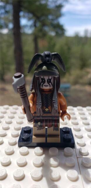 Lone Ranger The Lone Ranger Lego Genuine Mini Figure!