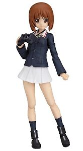 figma 211 Miho Nishizumi Girls und Panzer Action Figure Max Factory FROM JAPAN