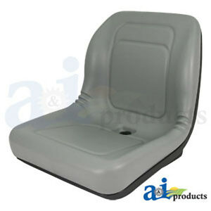 A-amp-I-Products-LAWN-GARDEN-SEAT-GRAY-PART-NO-A-LGT100GR