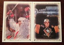 MARIO LEMIEUX 08/09 UD MASTERPIECES TEAM CANADA / STANLEY CUP LOT (4)