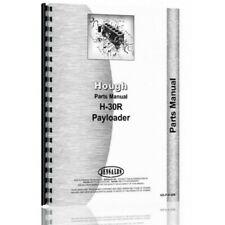 Hough H 30r Pay Loader Parts Manual Catalog