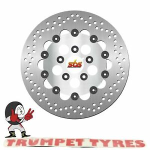 Harley-FLHT-Tour-Glide-1340-1984-SBS-Front-Brake-Disc-Genuine-OE-Quality-5140