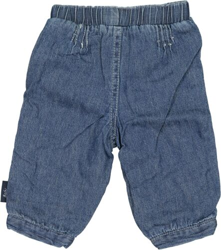 Ding Dong Baby Mädchen Jeans Babybekleidung Hosen Blau Gr 62