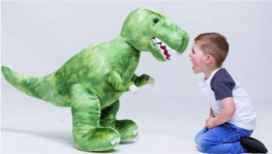 62cm Long Chad Valley Dinosaur TRex SOFT TOY Plush LARGE Kids Girl Boy Game Gift