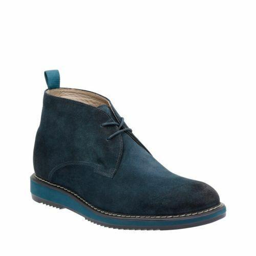 Clarks Mens Kenley Mid Navy Suede  Lace Up Stiefel UK 8 8.5 9.5 10.5   | Einfach zu spielen, freies Leben