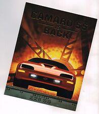 1996 Chevy CAMARO Z28 / SS Only Brochure / Catalog: SLP Engineering, Z-28...NOS!