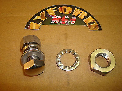 BSA  A10, RGS, B31, GOLD STAR (S-ARM MODELS) QD TORQUE ARM S/STEEL FIXING KIT