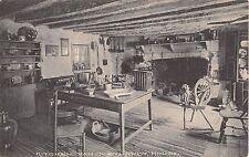 c.1910 Kitchen Van Corlandt House Bronx NY post card