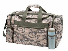 "18""Tactical Military Duffel Digital Camo Gun Ammo Range Gear Bag ACU Duffle"