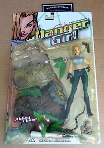"""McFARLANE TOYS  """"DANGER GIRL ABBEY CHASE""""  ACTION FIGURE NEW/UNOPENED 1999 787926921113"""