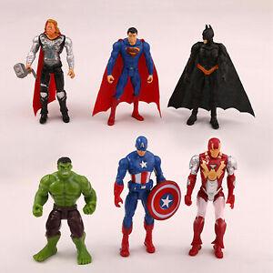 Marvel-Avengers-Superhero-Action-Figure-PVC-Batman-Superman-Hulk-Toy-Gift-Decor