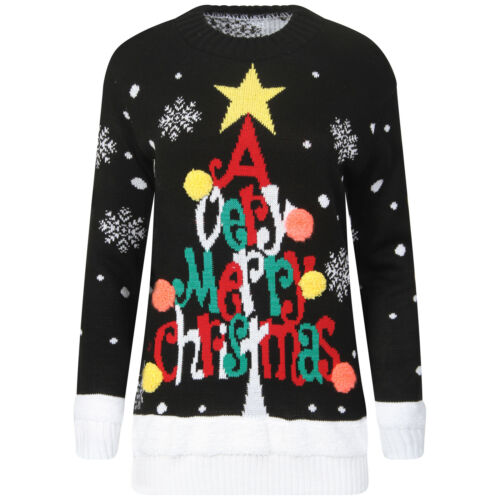 Women Ladies star wars Minion olaf Christmas Xmas Jumper Top plus size lot D1