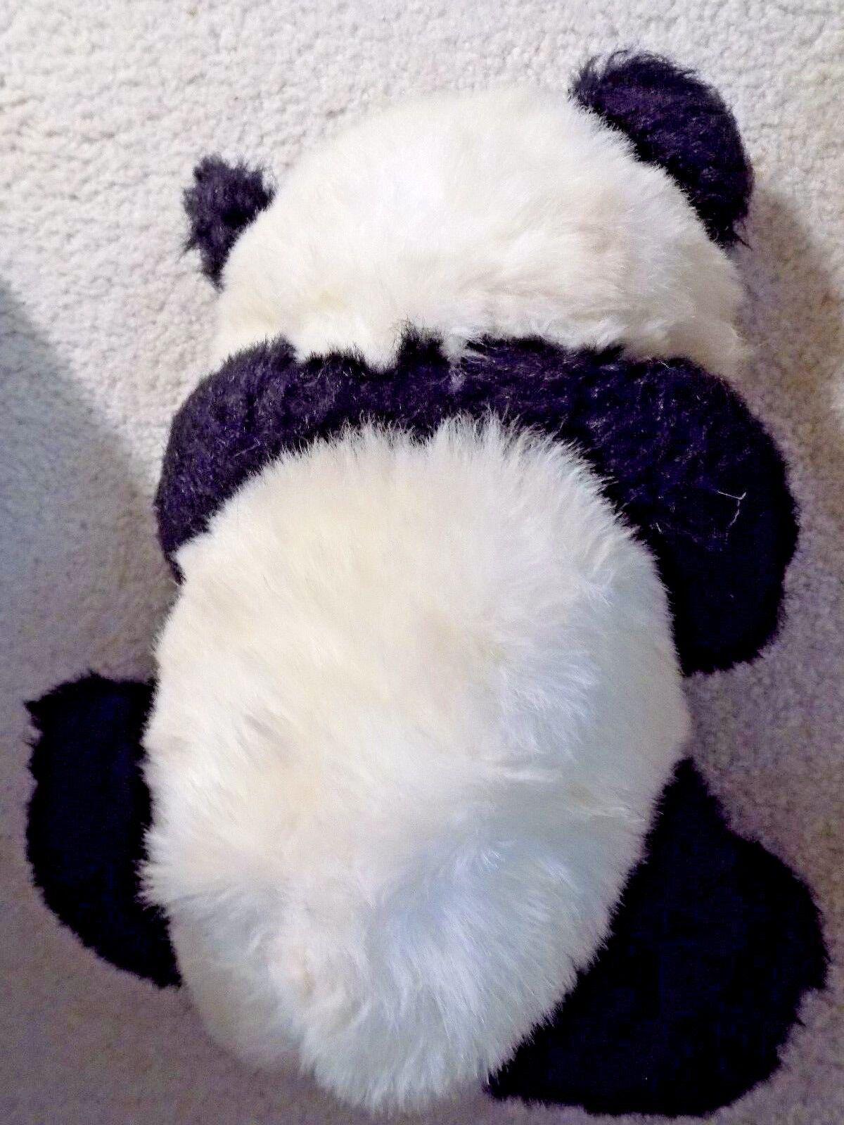 Vintage Original 1987 Ty 15    Ping Pong Mad Panda RARE Plush Stuffed Toy 112313
