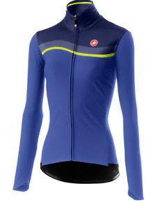 Castelli ciclismo mujer Mitica W Chaqueta Lapislázuli Azul Pequeño S