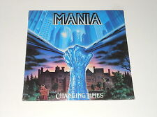 Mania - SEALED LP - Changing Times - DE 1989 - Noise International N 0139-1