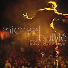 Michael Buble Meets Madison Square Garden (CD/DVD), New Music