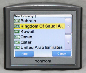 tomtom gps navigation 2018 usa middle east bahrain saudi. Black Bedroom Furniture Sets. Home Design Ideas