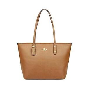 463d347be9 Coach City Zip Tote Crossgrain Leather Handbag - F58846 for sale ...