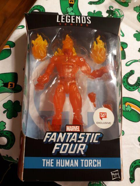 "Marvel Legends Fantastic Four /""Human Torch/"" Walgreens Exclusive Action Figure"