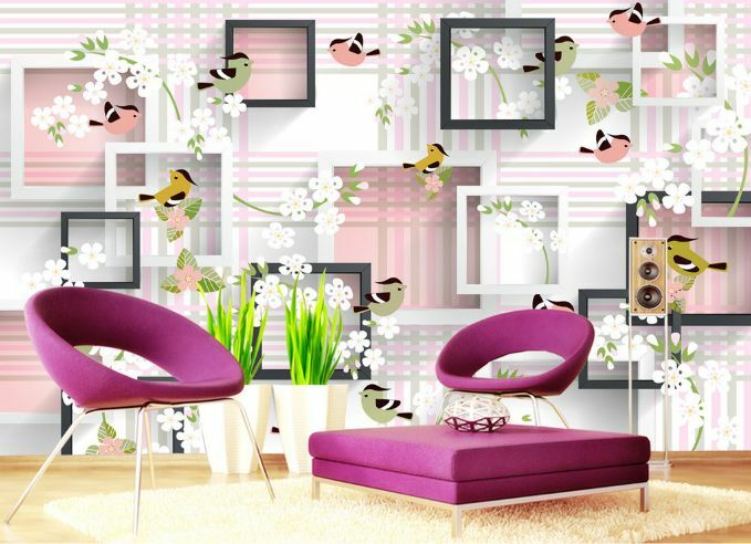 3D decorazione Parete Murale Foto Carta da parati immagine sfondo muro stampa