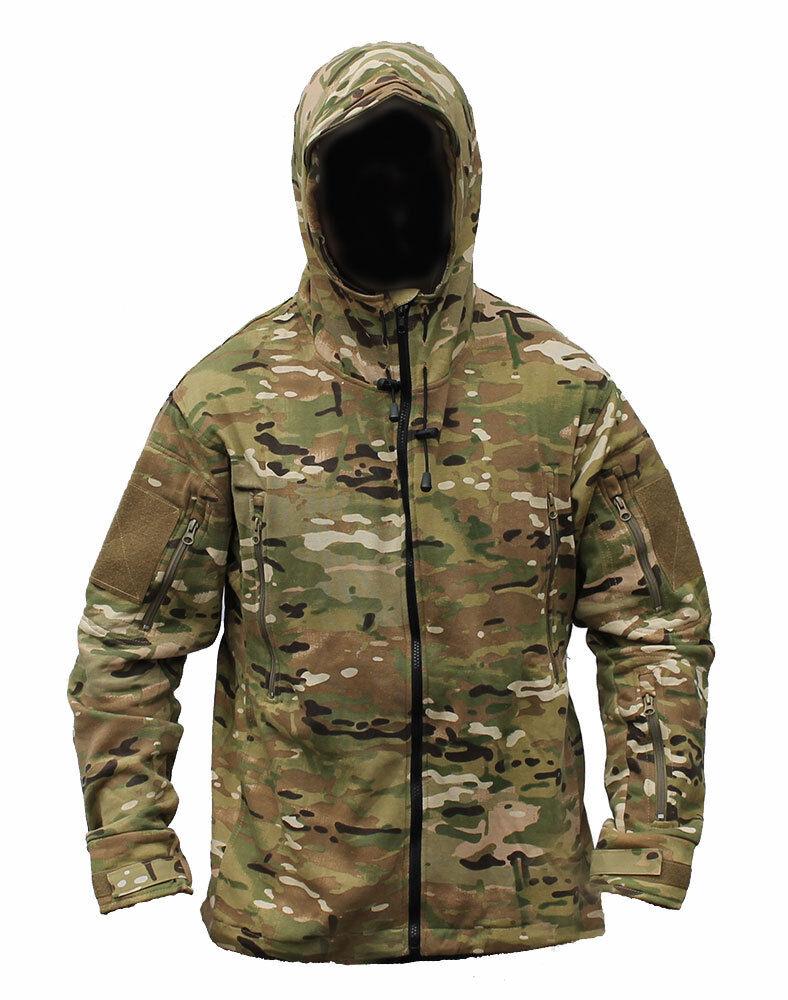 MultiCam MTP-Match-Hoodie-Jackentasche mit Kapuze Smock Angeln Outdoor-Bekleidung