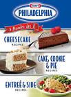 Kraft Philadelphia 3 Books in 1 Cookbook by Publications International (Hardback, 2010)
