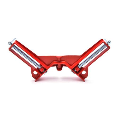 Support de serrage à angle à angle droit à 90 °