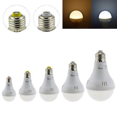 Super Bright E27 LED Bulb Light Lamp 3W/5W/7W/9W/12W White/Warm 220V For Home