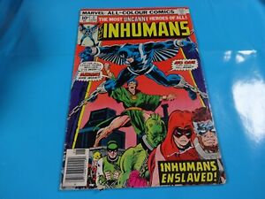 inhumans-5-issue-marvel-Comic-book-1st-print