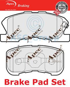 Apec-Set-almohadillas-freno-Delantero-repuesto-de-calidad-OE-pad1148