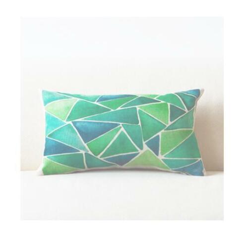 Pillows Cover Geometric Throw Home Case Cushion Decor Cushions Pillow Rectangle