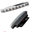 2pcs-Motorcycle-Car-100-lm-8-LED-Daytime-Running-Lights thumbnail 3