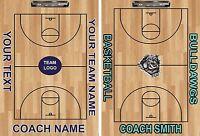 Custom Basketball Clipboard Dry Ease Great Coach's Gift