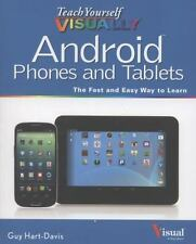 Teach Yourself VISUALLY Android Phones and Tablets-ExLibrary