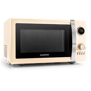 Retro Mikrowelle Microwave Grill Backofen 23 Liter 1000 Watt Timer