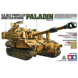 Tamiya 37026 U.S. Självpropellerd Howitzer M109A6 Paladin (Irakkriget) 1  35