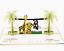 3D Popup Karte Geschenk Kinder Zoo Tiere Geburtstag Geburtstagskarte Kinder