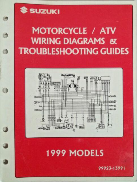 Genuine Suzuki Motorcycle Atv Wiring Diagrams  U0026 Troubleshooting Guides 1999 Oem