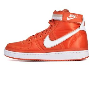 reputable site 6b123 b008c Image is loading nike-Vandal-High-Supreme-Satin-CORAL-ORANGE-US-