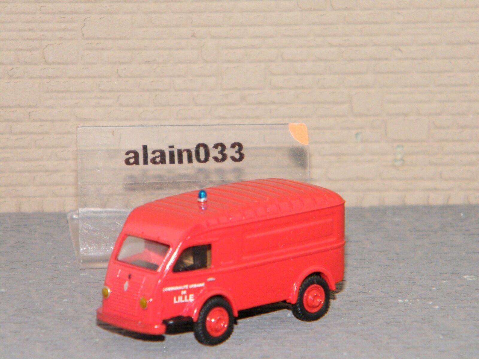 RENAULT GALION 1000 Kgs tôlé pompiers de Lille SAI rétro 1 87 Ref 3556