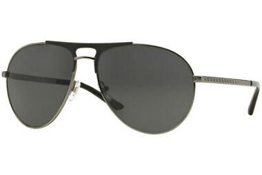Versace VE2164 1001/87 Matte Black & Gunmetal Frame Sunglasses