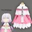 Kobayashi/'s Dragon Maid Kamui Kanna Pink dress  cosplay Costume