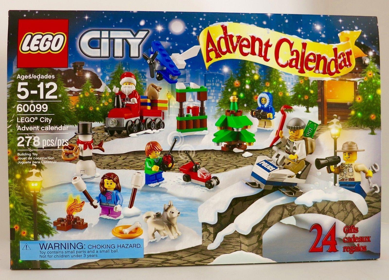 LEGO® 2015 città Town 60099 Advent Calendar costruzione Kit  Christmas Holiday NISB  alta quaità