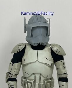 "Star Wars 1//6 Clone Commando Helmet For Custom 12"" Figure"