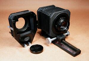 Leica-Elmarit-90mm-f-2-8-Lens-Cell-Close-Up-Bellows-Set-13297-16558Z-Adapter