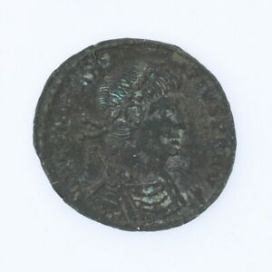 Ancient-Roman-Empire-Coin-AE-Centenionalis-337-361-AD-Constantius-II-Sisca-Mint