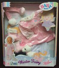 Zapf Baby Born invierno nuevo traje de hadas
