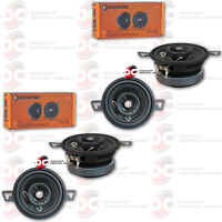 4 X Memphis 3.5-inch 3-1/2 2-way Car Audio Coaxial Speakers
