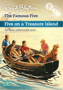 Rel-Grainer-Richard-Palmer-Famous-Five-Five-On-a-Treasure-UK-IMPORT-DVD-NEW